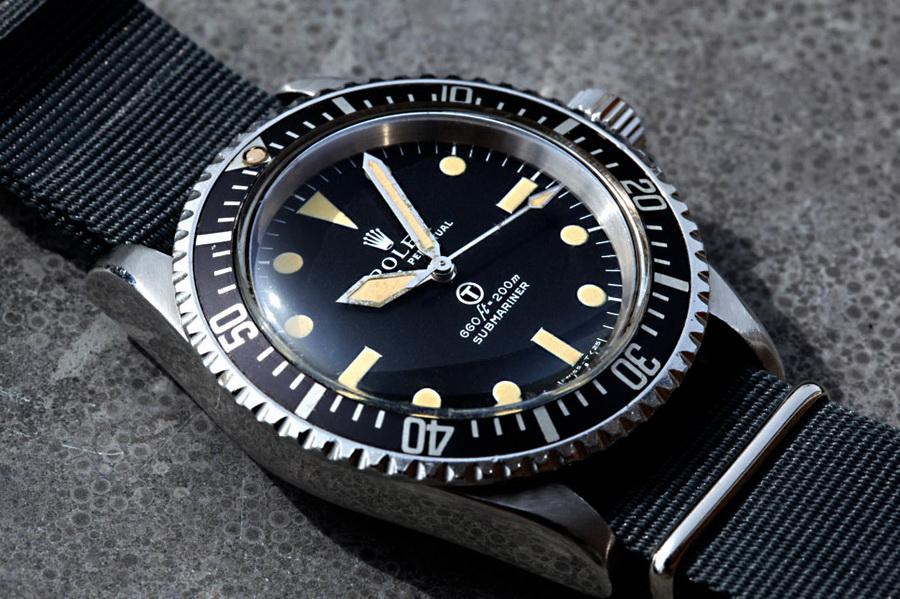 Наручные часы Rolex Military Submariner MilSub