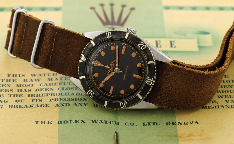 Часы Rolex Submariner 6205