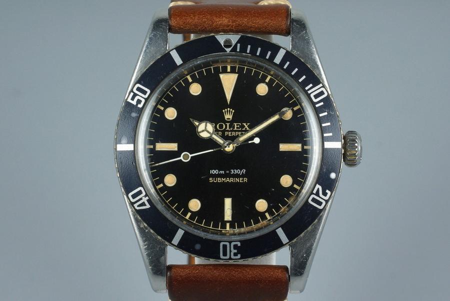 Часы Rolex Submariner 6204