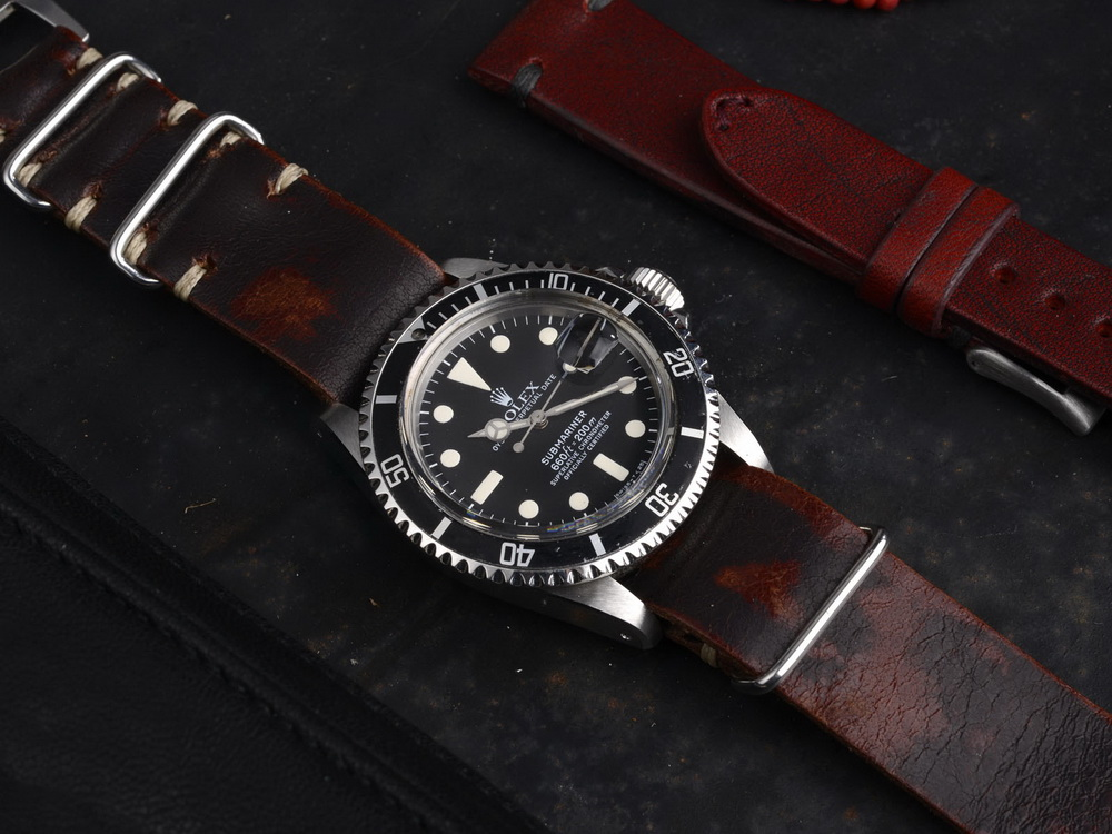 Кожаные ремешки для часов NATO и ZULU