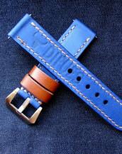 Заказать часовой ремешок handmade ширина 22 мм.