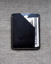 Тонкий кошелёк из кожи
