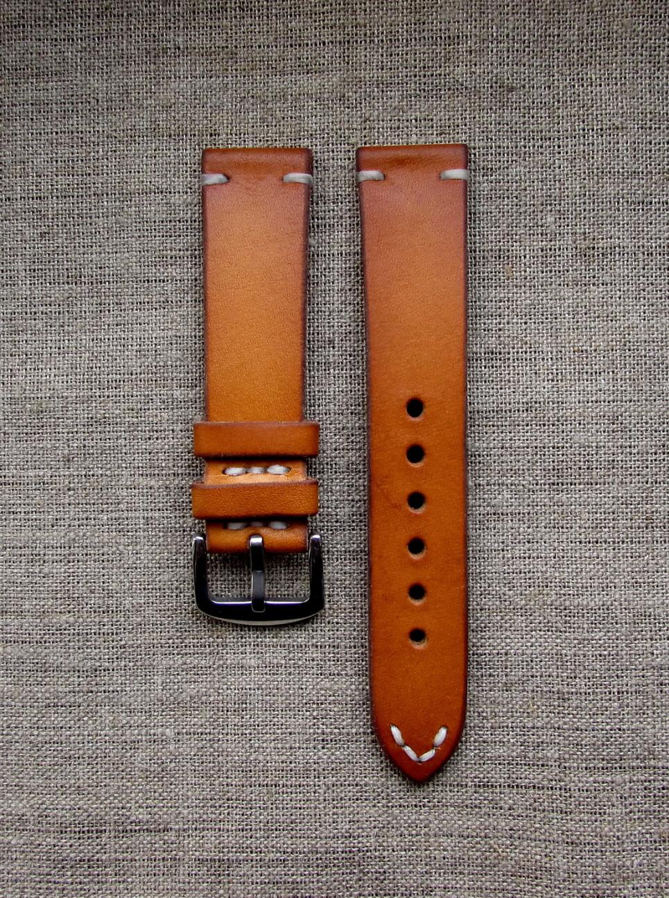 Часовой ремешок handmade в винтажном стиле
