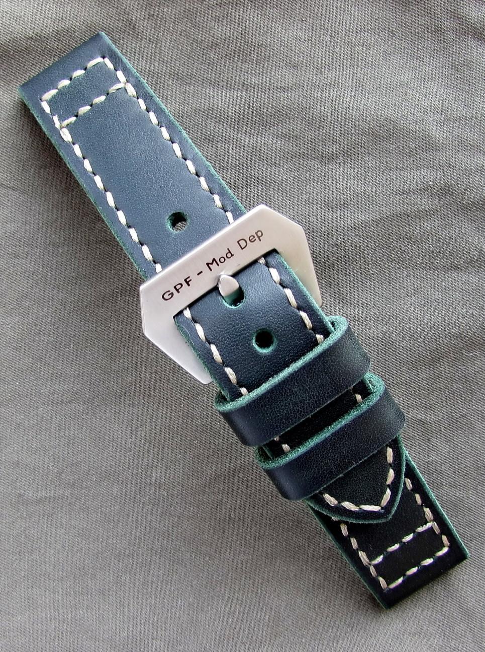 Часовой ремешок ручной работы в стиле Panerai
