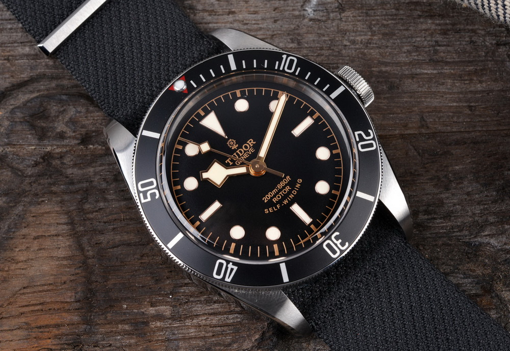 Часы Tudor Black Bay