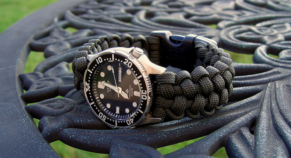 Ремешки для часов из паракорда (Paracord Watch Straps)