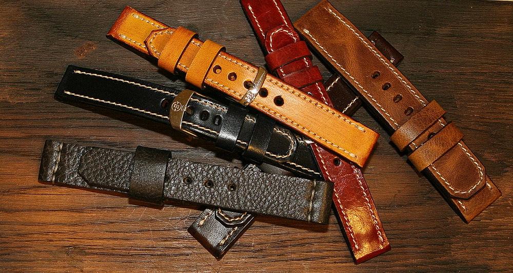 Виды часовых ремешков и браслетов
