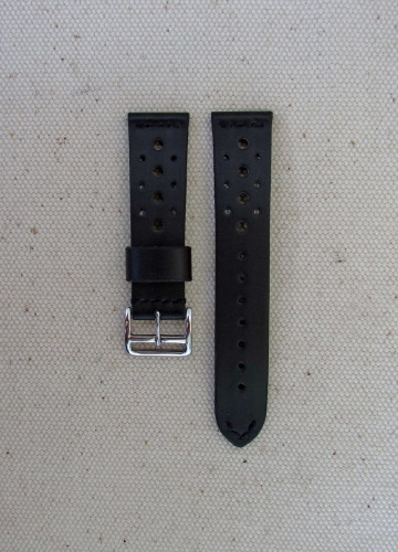 Кожаный ремешок для часов с перфорацией