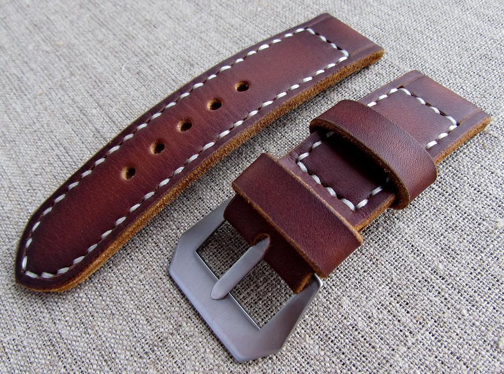 Купить кожаный часовой ремешок