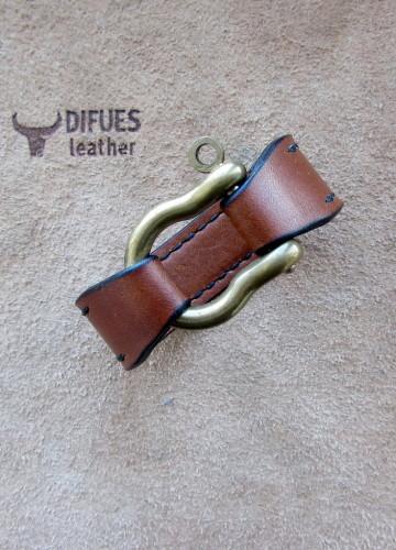 Купить кожаный браслет ручной работы