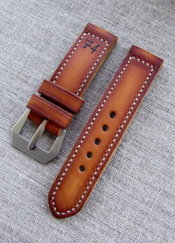 """Купить ремешок для часов Panerai в винтажном стиле """"74"""""""