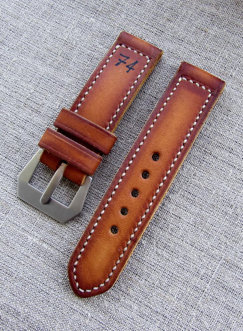 Купить ремешок для часов Panerai в винтажном стиле «74»