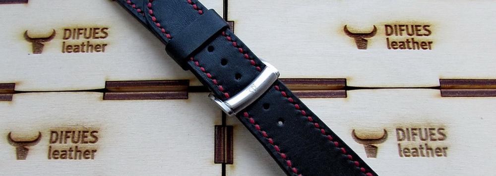 Кожаный ремешок для Baume et Mercier