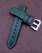 Ремешок для часов зелёного цвета