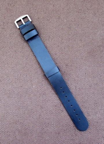 Часовой ремешок ZULU из натуральной кожи