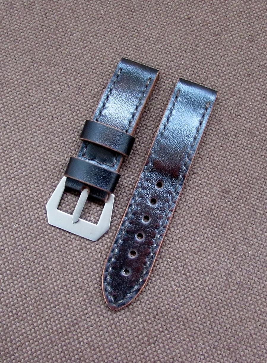 Купить тёмно-коричневый ремешок для часов