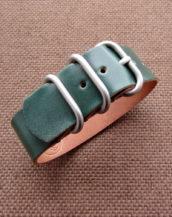 Купить кожаный часовой ремешок ZULU премиум-класса