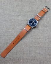 Купить кожаный ремешок для часов НАТО