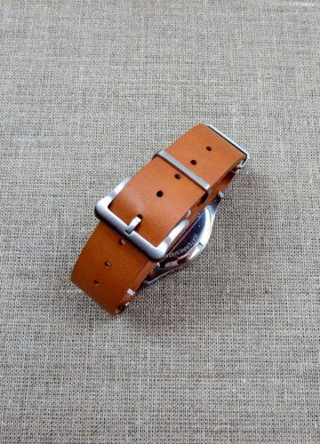 """Купить кожаный ремешок для часов """"НАТО"""""""