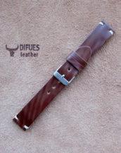 Часовой ремешок из кожи Шелл Кордован