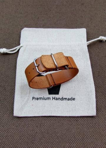 Ремешок для часов ЗУЛУ из натуральной кожи