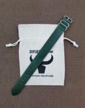 Зелёный зулу ремешок