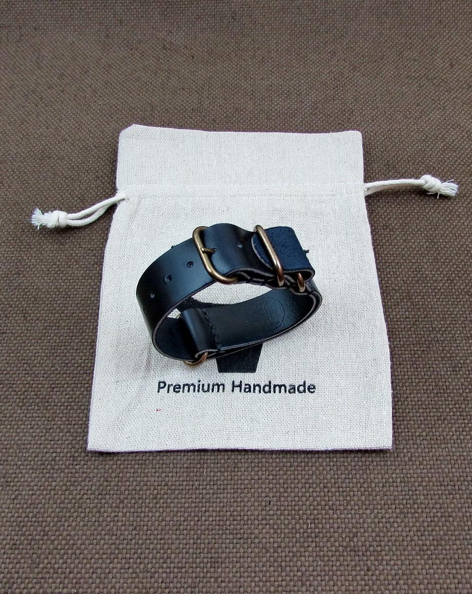 Часовой ремешок «ЗУЛУ» из Horween