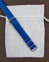 Синий ремешок ZULU заказать