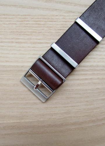 Ремешок ручной работы коричневый