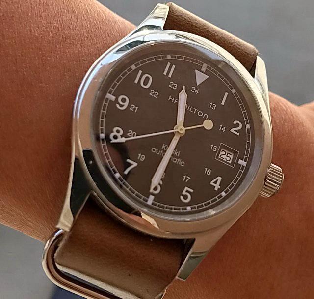 ZULU-ремешок для часов Hamilton из натуральной кожи Horween