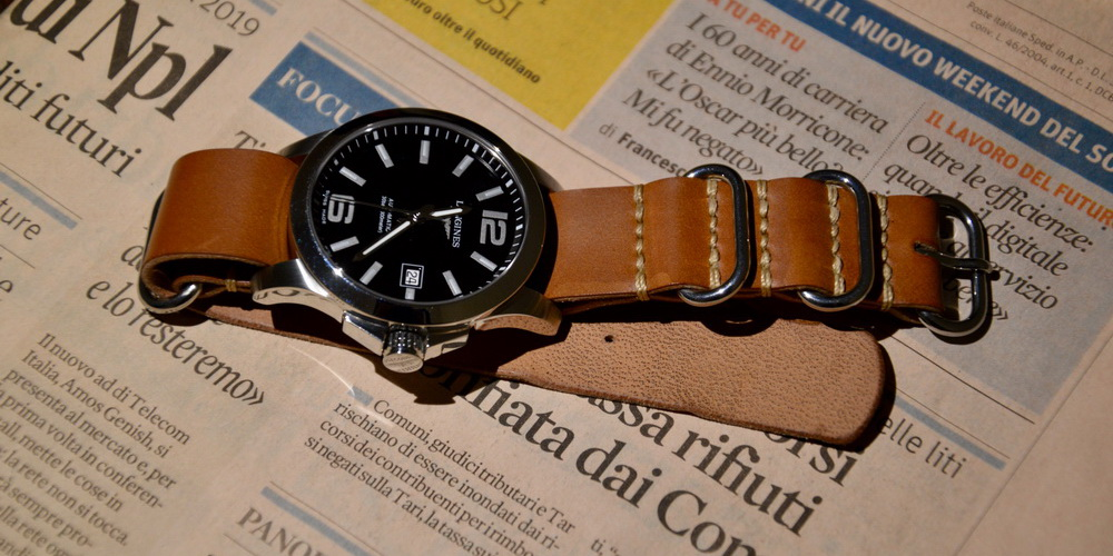 Ремешки НАТО ЗУЛУ для часов Longines