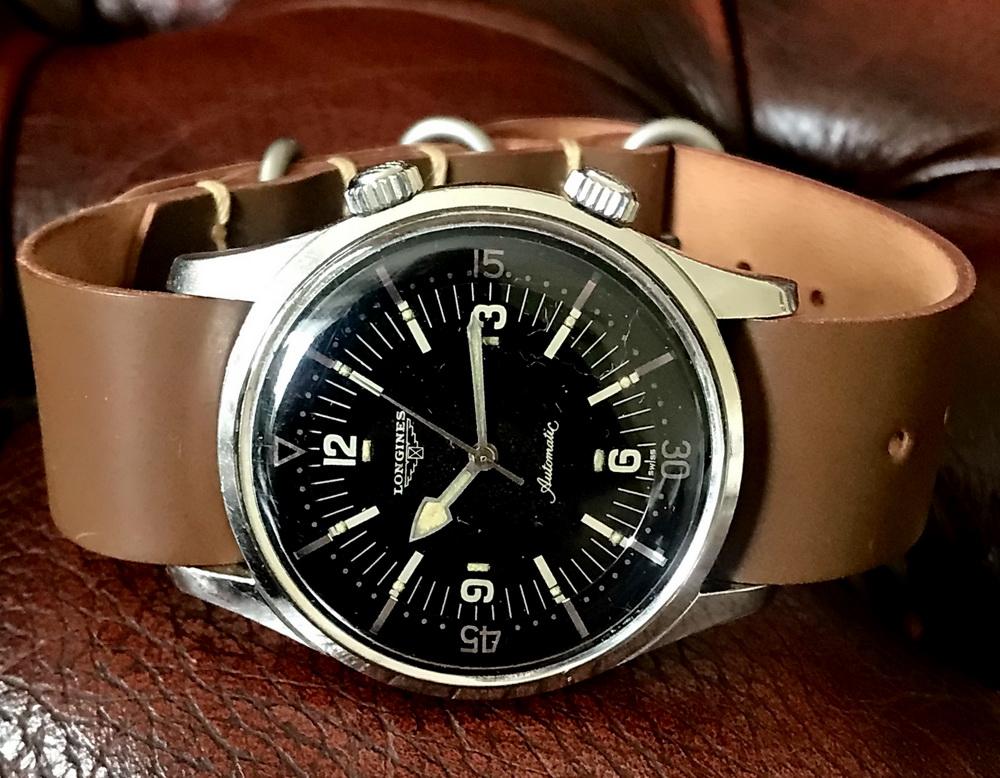Ремешок ZULU для часов Longines Legend Diver