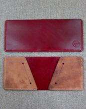 Бумажник из Shell Cordovan