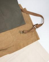 Фартук из плотной хлопковой ткани Difues Leather
