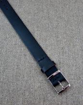Чёрный часовой ремешок из Кордован