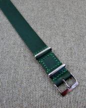 Зелёный ремешок НАТО из Кордован