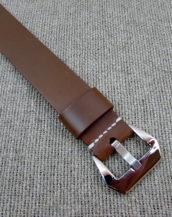 Часовой ремешок Хаки из Cordovan