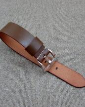 Часовой ремешок Хаки из Cordovan, ширина 22 мм.